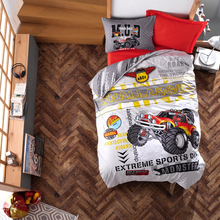 Bedspread Duvet-Cover-Set Sheet Pillowcase Turkey Room-Gift Cotton-Box Monster Girl's