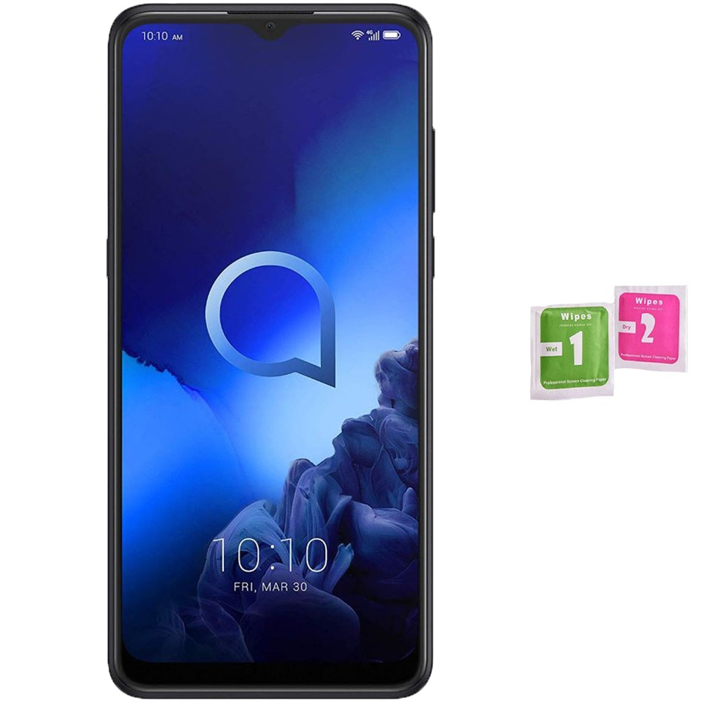 Tempered Glass Screen Protector For For ALCATEL 3X 2020 (Generico, Not Full See INFO) Wipes