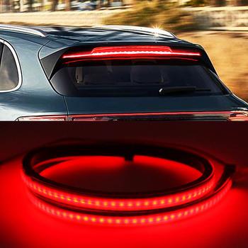 4*4 bagażnik samochodowy tylne światło hamowania wysoko montowane dodatkowe zatrzymanie tylny ogon taśmy LED Running Turn Signal akcesoria samochodowe tanie i dobre opinie Dodatkowe światła hamowania montaż CN (pochodzenie) 12 v 0 281kg Czerwony