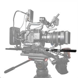 Image 3 - SmallRig Nero In Lega di Alluminio Standard di 15 millimetri Aste M12 Filetto Femmina 25 centimetri 10 Centimetri di Lunghezza (Coppia Pack) macchina fotografica Rod della Guida 1052