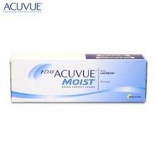 Контактные линзы 1-Day Acuvue Moist(30 шт) R: 9.0