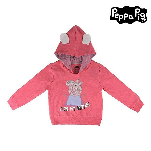 Hooded Sweatshirt For Girls Peppa Pig 74230 Pink