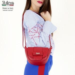 Image 1 - JUICE, made in Italy, Genuine leather, women bag,Women cross body 112195
