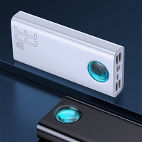 External Battery baseus amblight quick charge & large power Digital Display Power Bank 33W (pd3.0 + qc3.0) 30000mAh