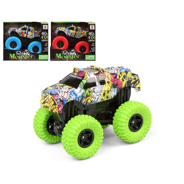 Monster Truck 4 X 4 (22 X 18,5 Cm)