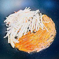 鸡汁厚百叶塔菜的做法图解5