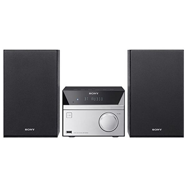 Hi fi Sony CMTS BT20 Bluetooth 12W Black Desktop Digital Music Player     - title=