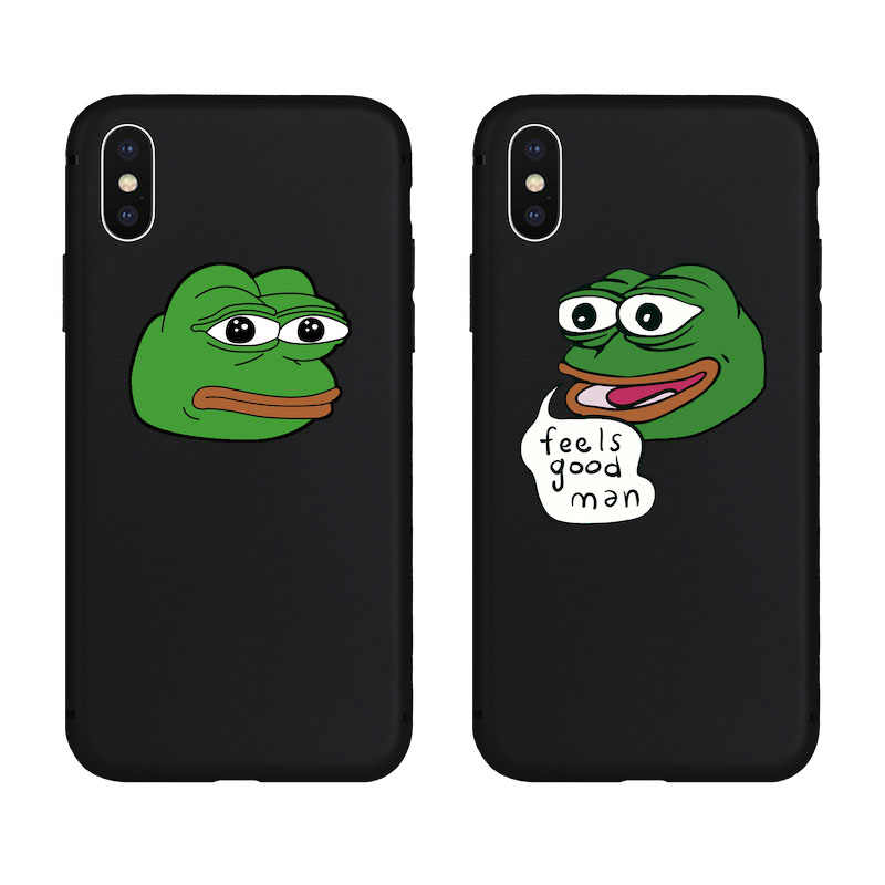 Brand NEW Green Frog Meme Soft Case for iPhone 11 11Pro 11ProMax X Xs XR XsMax 8Plus 8 7Plus 7 6 6s Plus 5 5s SE Phone Cover