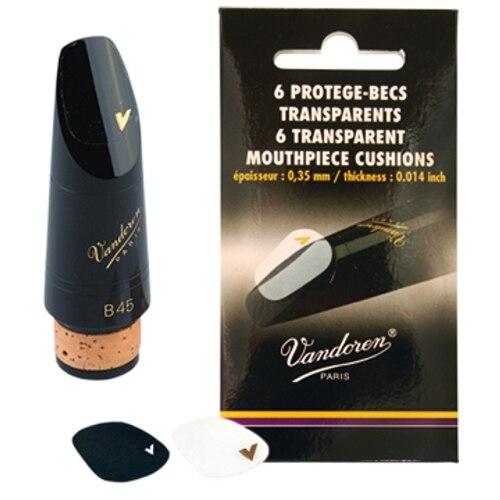 Vmc6 Mouthpiece Sticker, 0,35mm Thickness, Transparent Vandoren