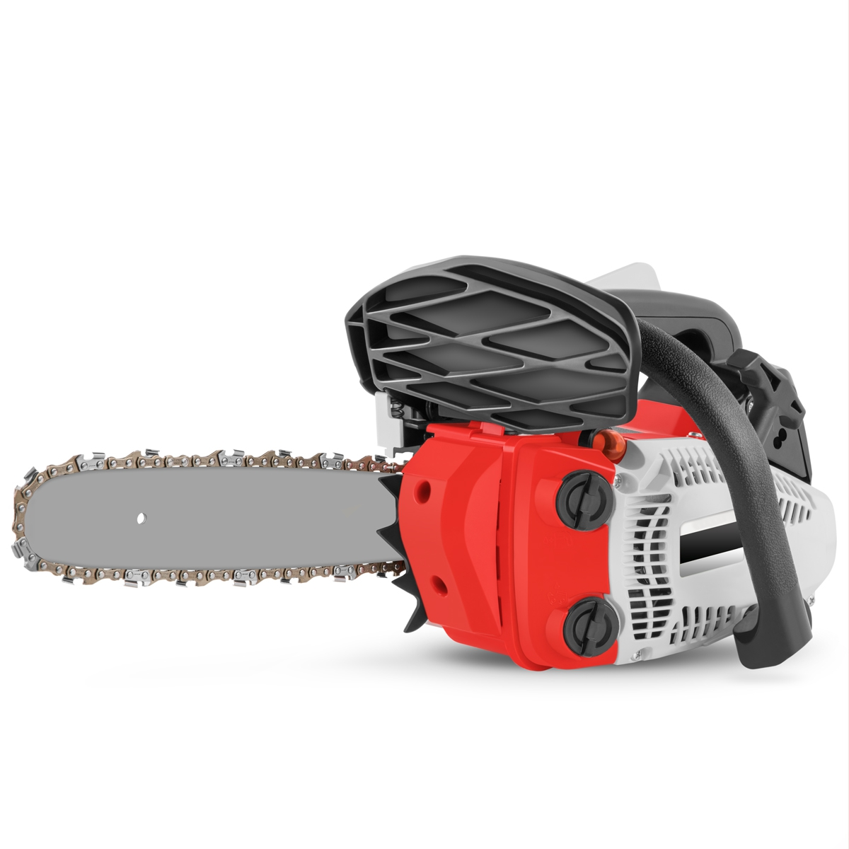 """Gasoline Chainsaw 24,5cc 1,4cv Sword 10 """"light Pruning And Powerful"""