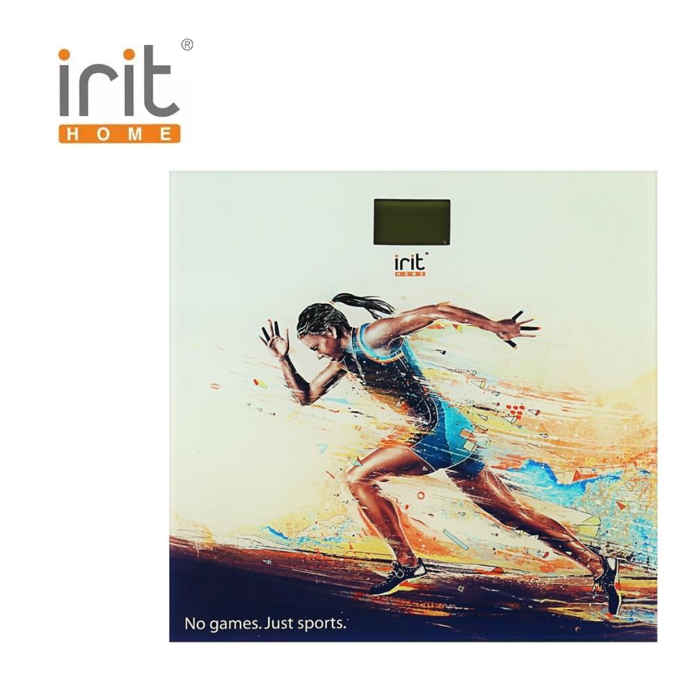 цены на Scale floor Irit IR-7262 Scale floor Scale smart Electronic body Scales for weighing human scales body weight в интернет-магазинах