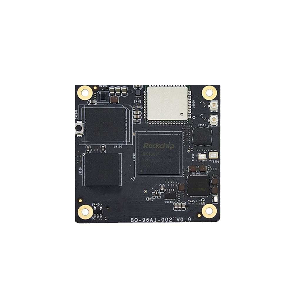 96boards Rockchip RK1808 Linux Developer Kit For Low-power Embedded Artificial Intelligence, Built-in NPU & Gigabit Ethernet