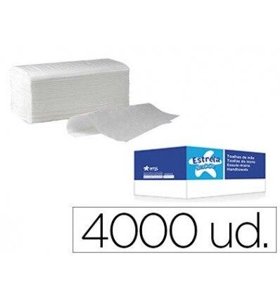 PAPER TOWEL HAND DRYER AMOOS CRIMPED 2 LAYERS 21X22 CM BOX 4000 PCS