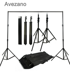 Avezano Photography Backdrop 3x2.6m Photo Studio Background Stand Photography Studio Background Support Stand Kit