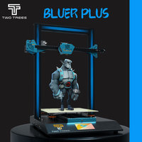TWO TREES 3D BLUER PLUS Printer Upgrade Metal frame Printing Masks Magnetic Build Plate BL TOUCH DIY KIT Mean Well Power Supply