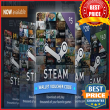 STEAM WALLET GIFT CARD 5€ EURO - Steam Key - For EUR Currency Only