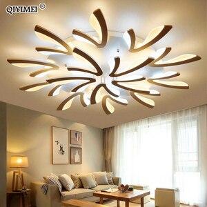 Image 1 - الاكريليك سقف ليد حديث أضواء لغرفة المعيشة غرفة نوم الطعام المنزل داخلي مصباح تركيبات الإضاءة AC85 260V لوميناريا Lampada