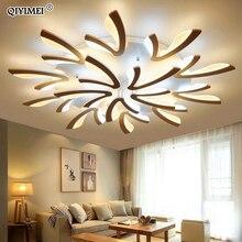 Acryl Moderne Led deckenleuchten Für Wohnzimmer Schlafzimmer Esszimmer Hause Innen Lampe Leuchten AC85 260V Luminaria Lampada