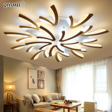 Acrylic Modern Led Ceiling Lights For Living Room Bedroom Dining Home Indoor Lamp Lighting Fixtures AC85 260V Luminaria Lampada