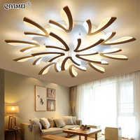 Acrylique plafond moderne à LEDs lumières pour salon chambre à manger maison intérieur lampe luminaires AC85-260V Luminaria Lampada