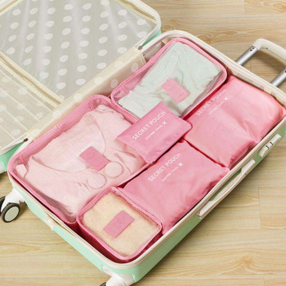 Местный запас 6 шт. водонепроницаемые дорожные сумки одежда чемодан Органайзер сумка Упаковка распродажа - Цвет: 8