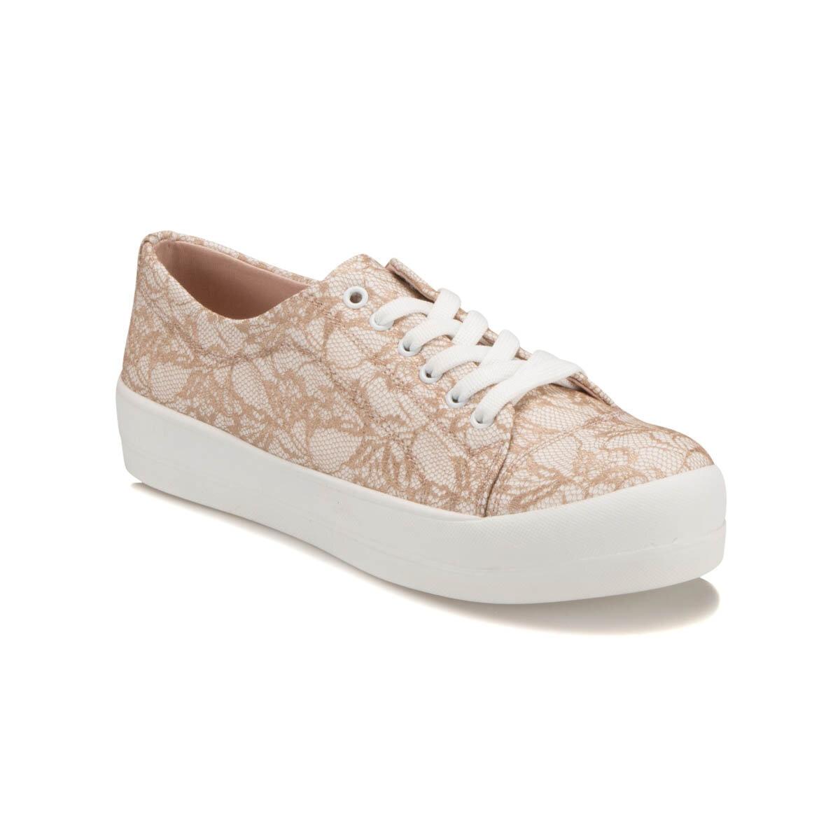 FLO CM-7 Beige Women 'S Sneaker Shoes Art Bella