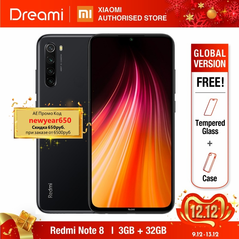 Global Version Redmi Note 8 32GB ROM 3GB RAM (LATEST ARRIVAL!), Note8 32gb