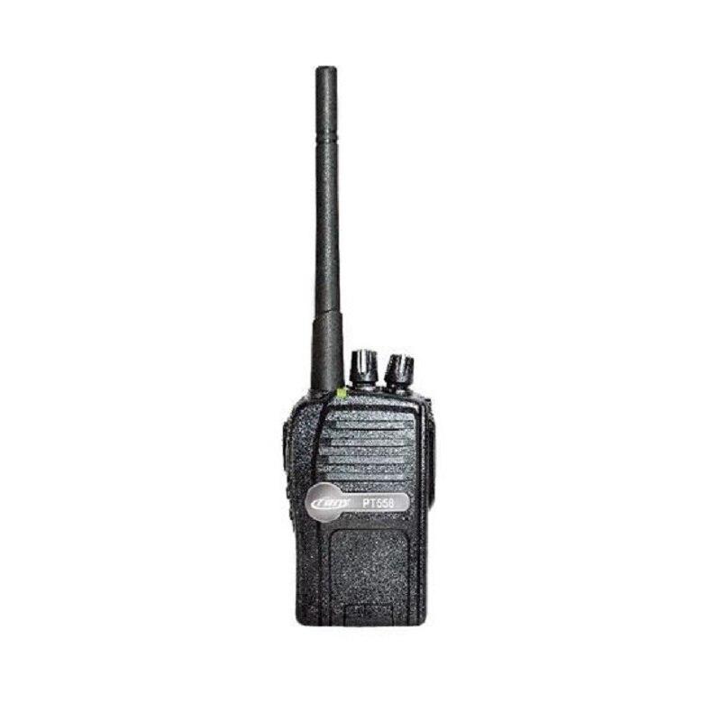 Crony PT-558 Professional Walkie Talkies, Portable Two Way Radio, 400~470MHz Walkie Talkie Black