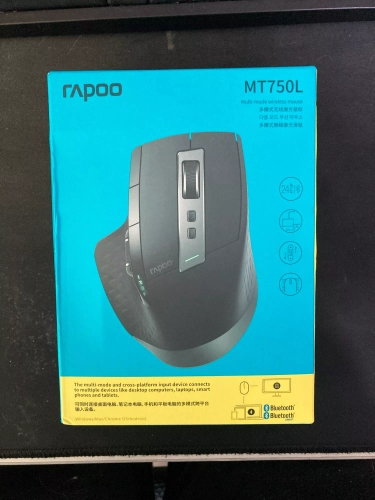 Rapoo MT750L/MT750S Rechargeable Multi mode Wireless Mouse Easy Switch between 2.4G and Bluetooth compatible for PC and Mac wireless mouse wireless mouse bluetoothmouse wireless bluetooth - AliExpress