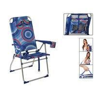 Sessel 117915 Faltbare Aluminium Blau (65X60x47/108 cm)