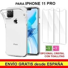 """Stand fall gel TPU kompatibel mit IPhone 11 Pro (5,8 """") premium qualität optional gehärtetem glas. Versendet aus Spanien"""