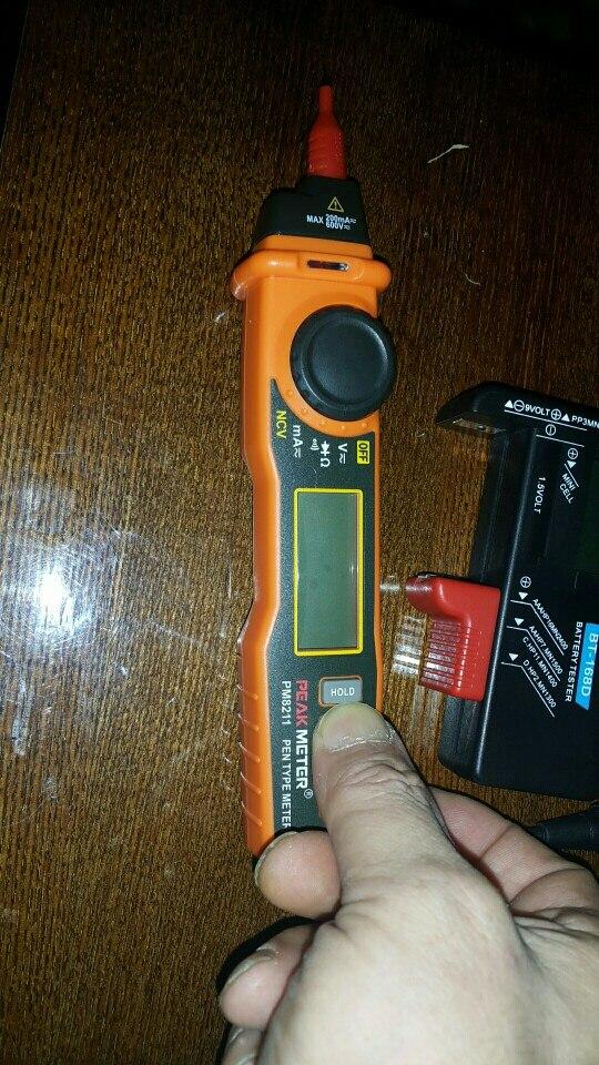 -- Contagens Digital Multímetro