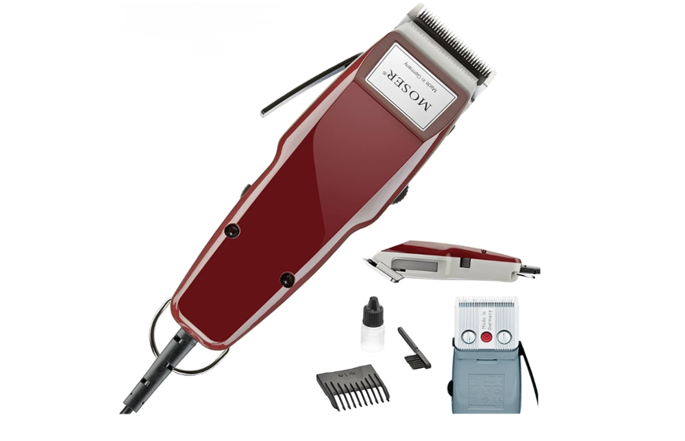 MOSER 1400 0050 Classic Men Professional Electric Hair Clipper Trimmer 0.1mm Haircut Barber Beard Trimmer German Quality