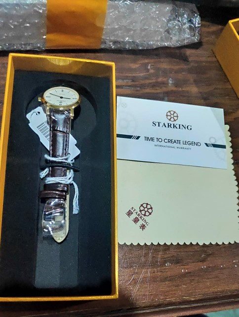 -- Safira Relógio Inoxidável