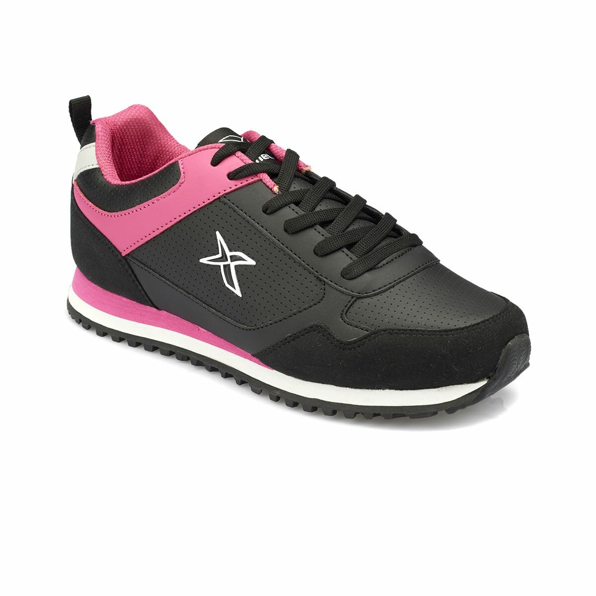 FLO AKONI Black Women 'S Sneaker Shoes KINETIX