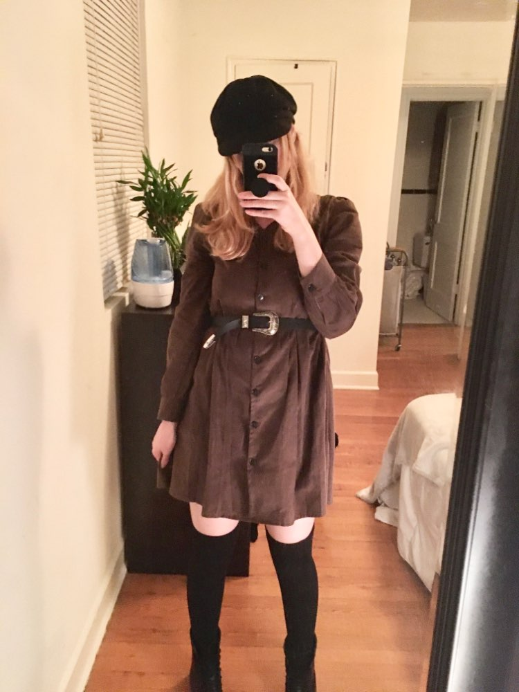 Cute Sweet Dresses Hot Sales Women Fashion Long Sleeve V Neck Vintage Preppy Style Girls Casual Loose Mini Button Shirt Dress photo review