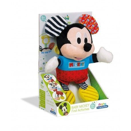 Clementoni Plush Textures Baby Mickey