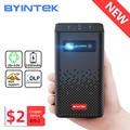 BYINTEK P20 Мини Портативный Pico Smart Android Wifi 1080P безэкранный ТВ лазерный светодиодный DLP проектор для мобильного смартфона 3D 4K кинотеатр