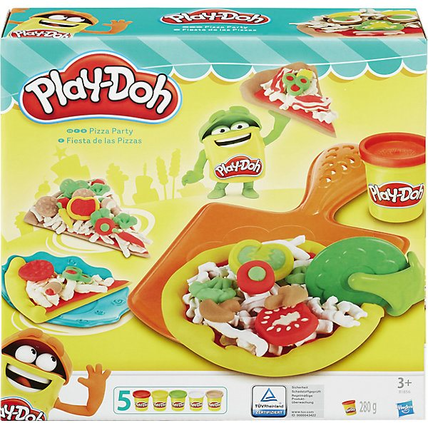 "Jeu \ ""Pizza \"", play-doh MTpromo"