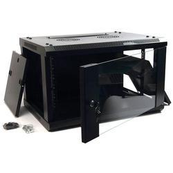 رف مثبت على الحائط 19 بوصة 4U يقيس 25x60x45 سم Rac-04645-st يمكن تثبيته على الحائط أو أستخدمه