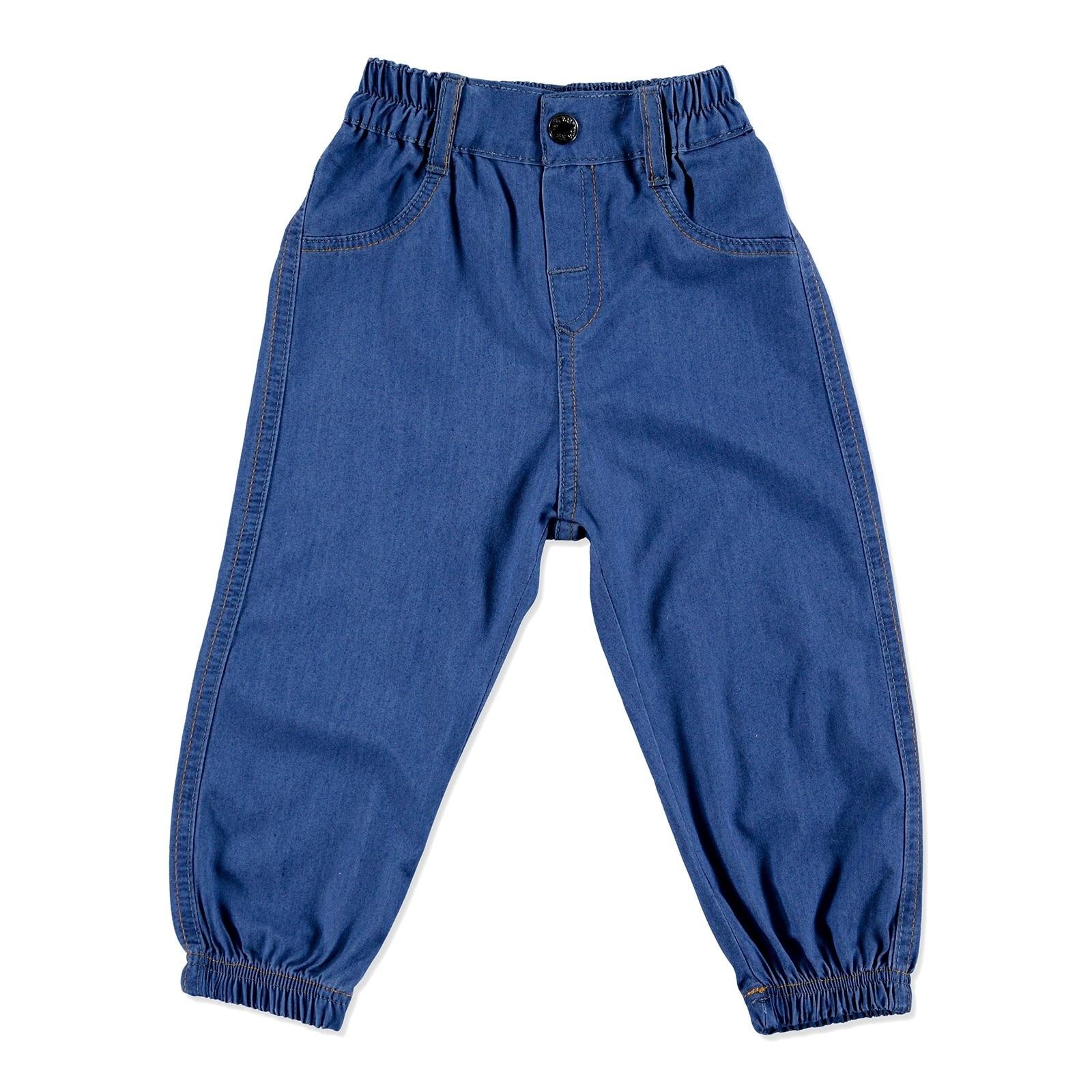 Ebebek HelloBaby Summer Baby Denim Cotton Pant