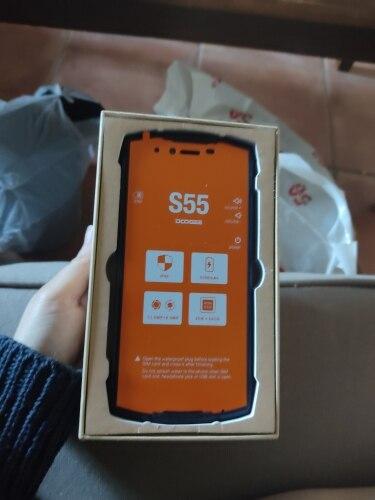 Real IP68 DOOGEE S55 waterproof Smartphone 4GB RAM 64GB ROM 5500mAh MTK6750T Octa Core 5.5inch Android 8.0 Dual SIM 13.0MP 4GLTE Cellphones    - AliExpress