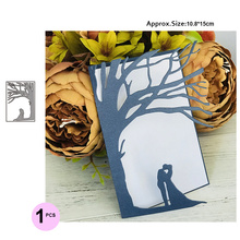2019 New Wedding Invitation Dies Couple Metal Cutting Craft Die Cut for Card Making Scrapbooking Stencil decoration