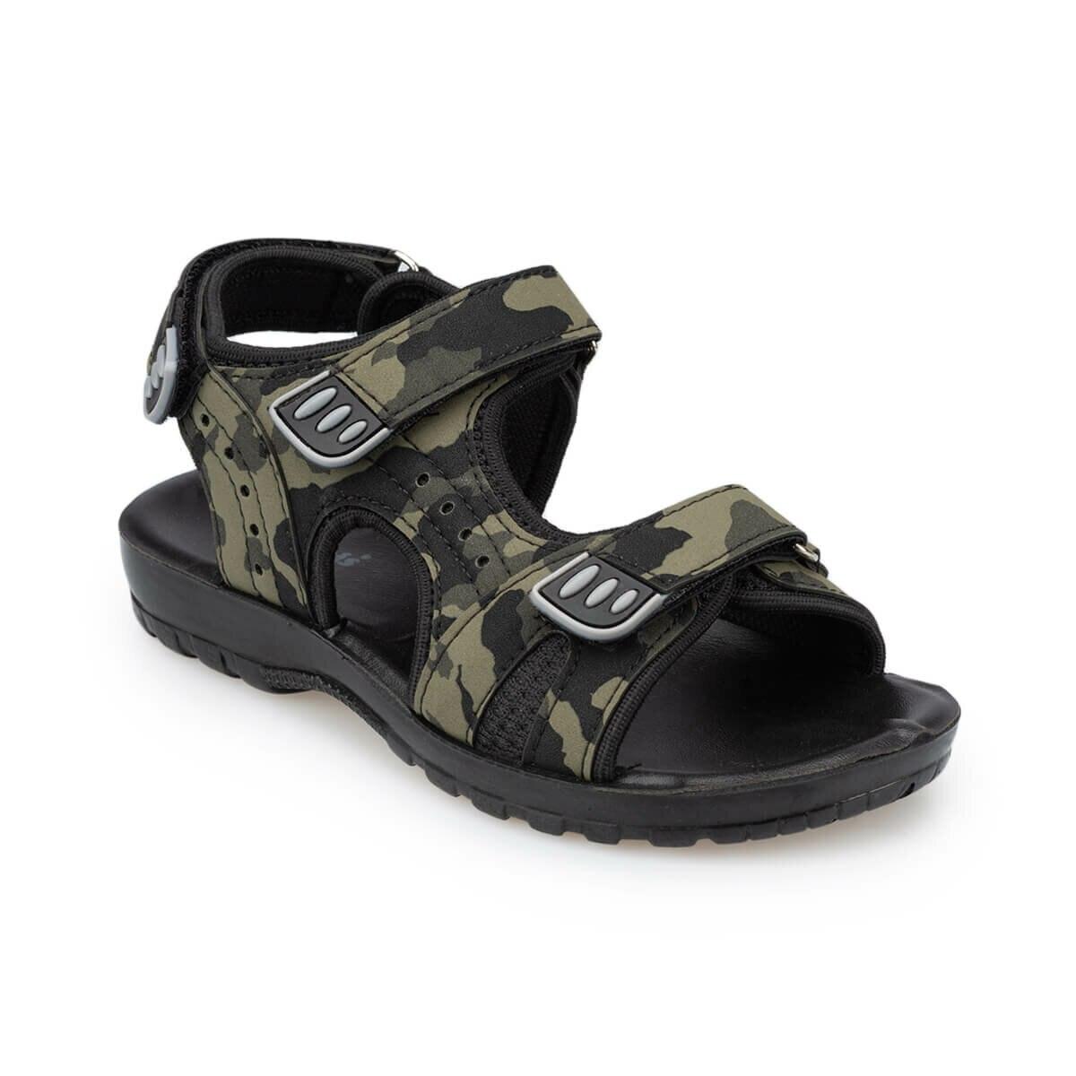 FLO 91. 511346.G Green Male Child Sandals Polaris