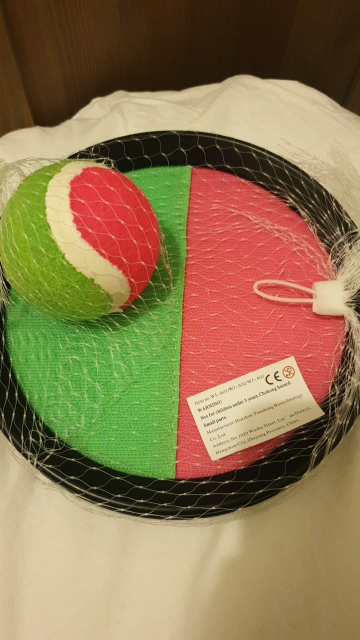 Outdoor Sticky Ball Toy Game photo review