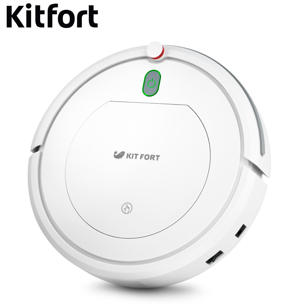 Robot vacuum cleaner Kitfort KT-531 Robot vacuum cleaner for home Vacuum Cleaner Robot Wireless vacuum cleaner Wireless Robots robot vacuum cleaner ilife v55 robot wireless handheld vacuum cleaner cleaning for home new robot vacuum cleaner ilife a40 for h