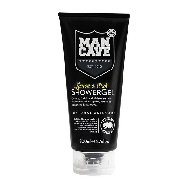 Shower Gel Body Care Lemon & Oak Mancave (200 Ml)