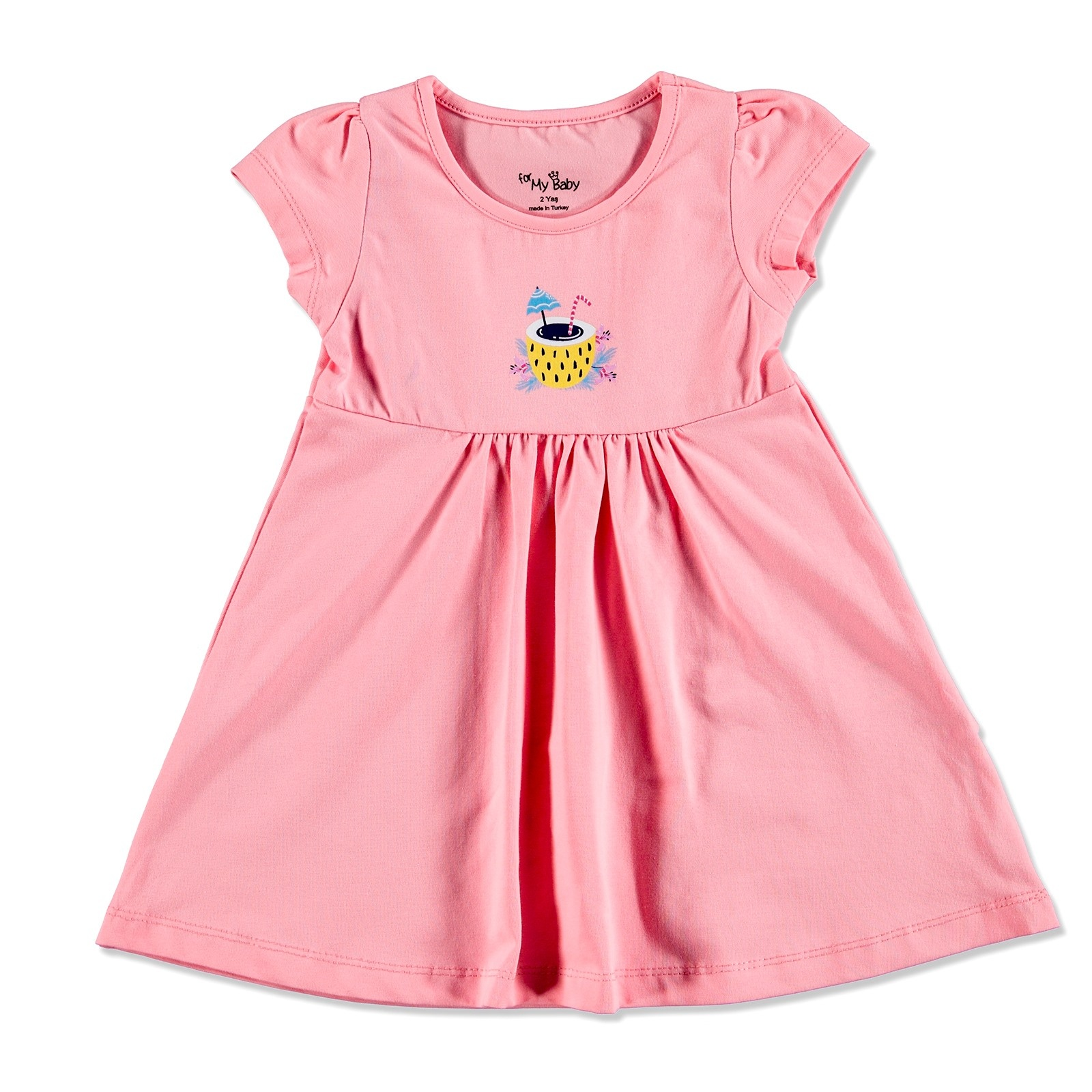 Ebebek For My Baby Summer Girl Flamingo Dress