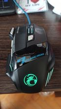 The mouse is cool. Glows always when connected, the color changes (shimmers). I ordered a