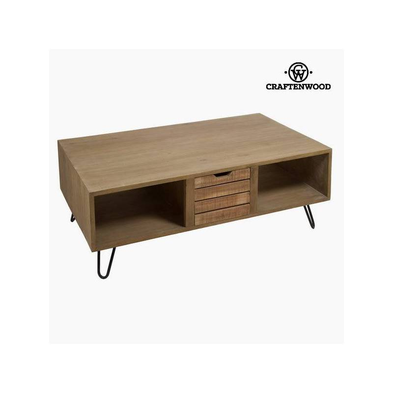 Coffee Table Bergen Wood Mindi (121x70x45 Cm) By Craftenwood